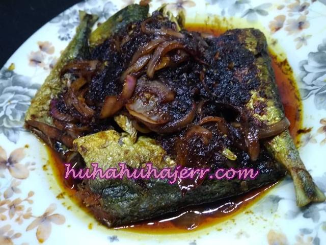 Ikan Sardin Masak Kicap Black Pepper Sedap