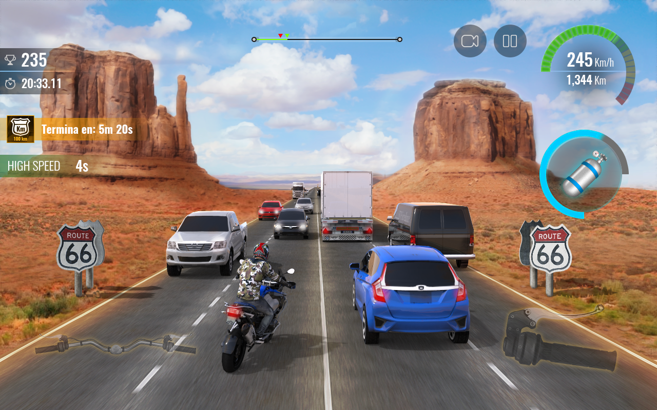 Moto Traffic Race 2 MOD AP