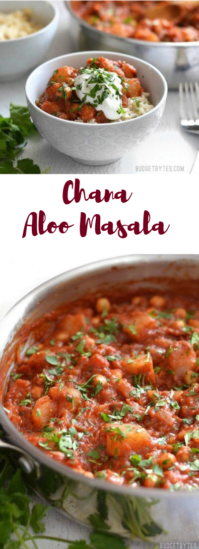 Chana Aloo Masala #vegan #recipe
