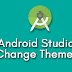 How to change Android Studio 2.3 Theme - 2017 EASY