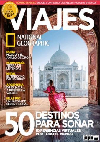 Viajes National Geographic N° 242: 50 Destinos Para soñar