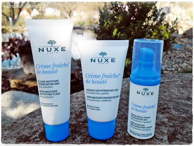 nuxe-creme-fraiche-de-beaute-blog-opinie-nowosc-krem-nawilzajacy-matujacy-maska