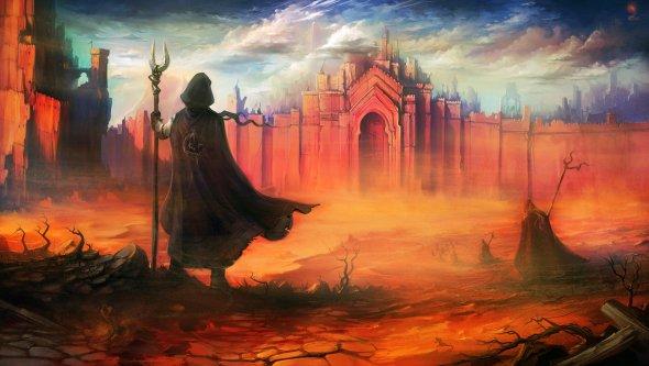 Igor Artyomenko haryarti deviantart ilustrações fantasia surreal