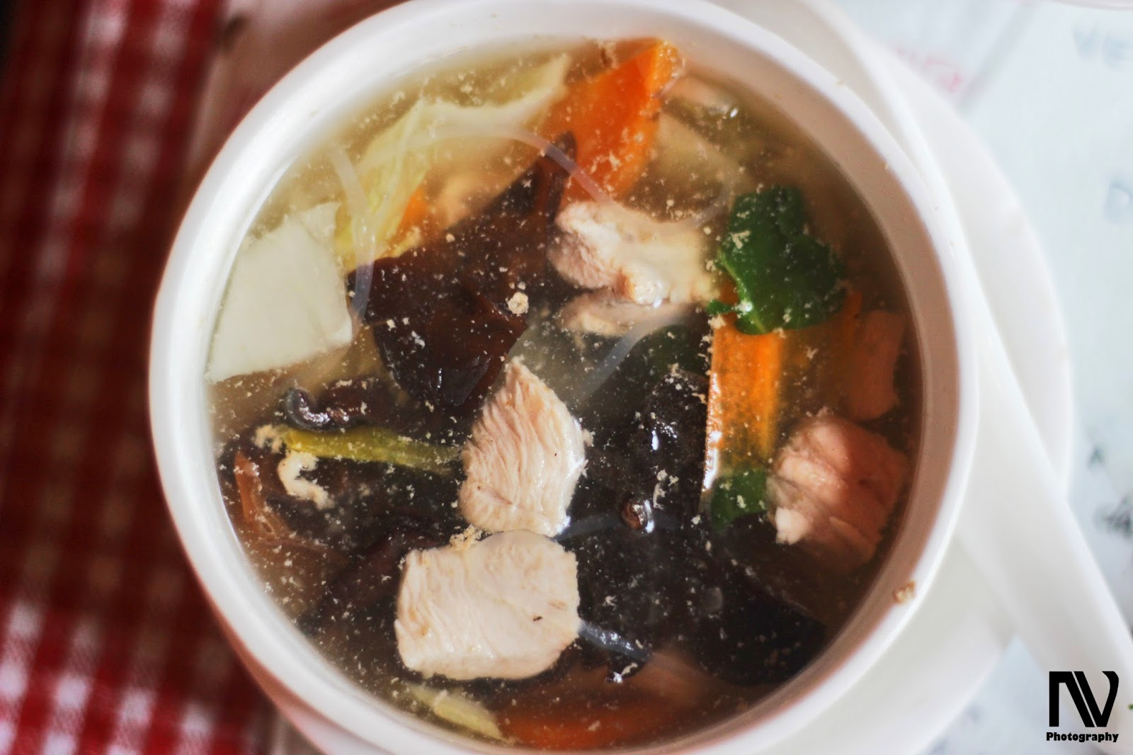Chicken Chinese Mushroom Soup, Kalsang