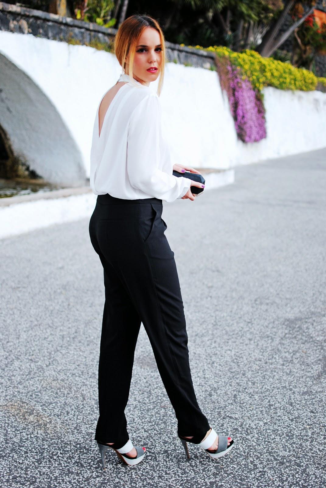 nery hdez, q2, jumpsuit, mono largo, black and white, zara shoes,