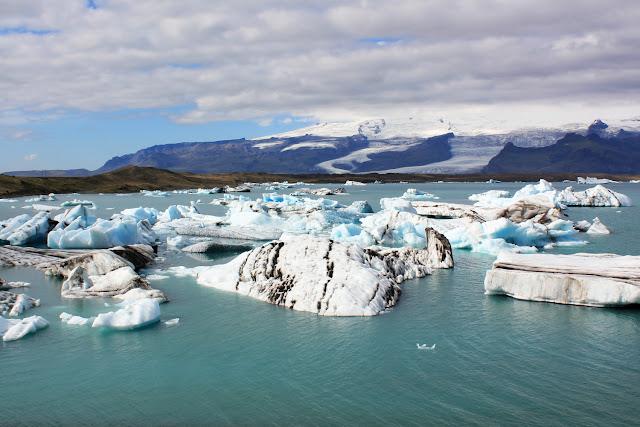 Jökulsárlón, el lago de los icebergs