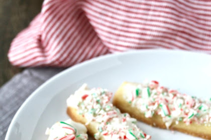 Peppermint Stick Cookies | Karen's Kitchen Stories