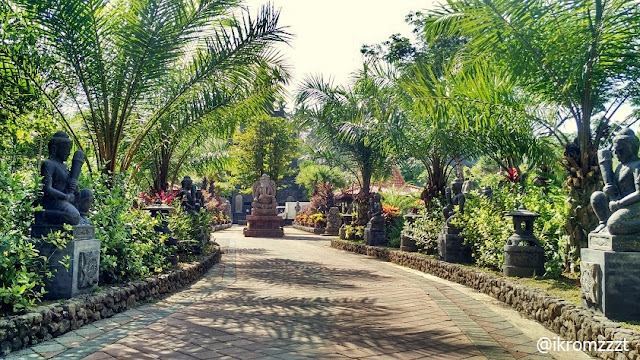 patung ganesha lembah tumpang resort