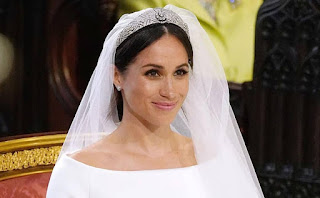 Meghan Markle wears Queen Mary's Tiara at the Royal Wedding