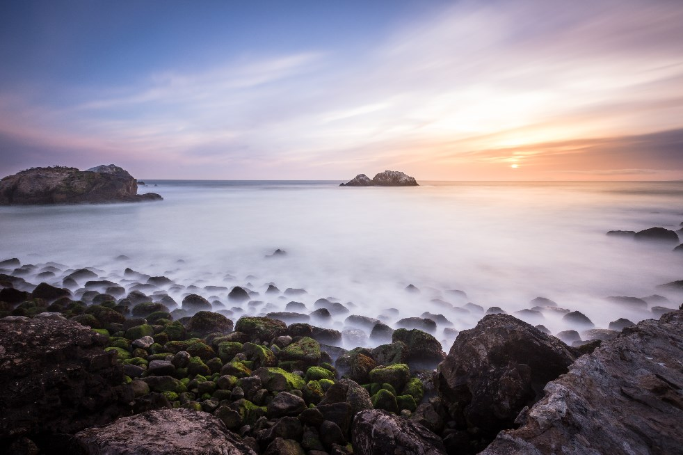 Tips Konsep Foto Long Exposure dan Slowspeed Landscape