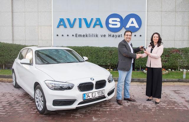 AvivaSA'nın son model otomobili sahibini buldu