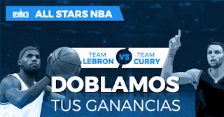 Paston promocion All Star LeBron vs Curry 19 febrero