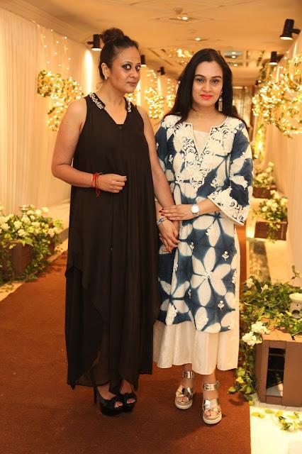 Ratika Seth with Padmini Kolhapure at Celebrating Vivaha-