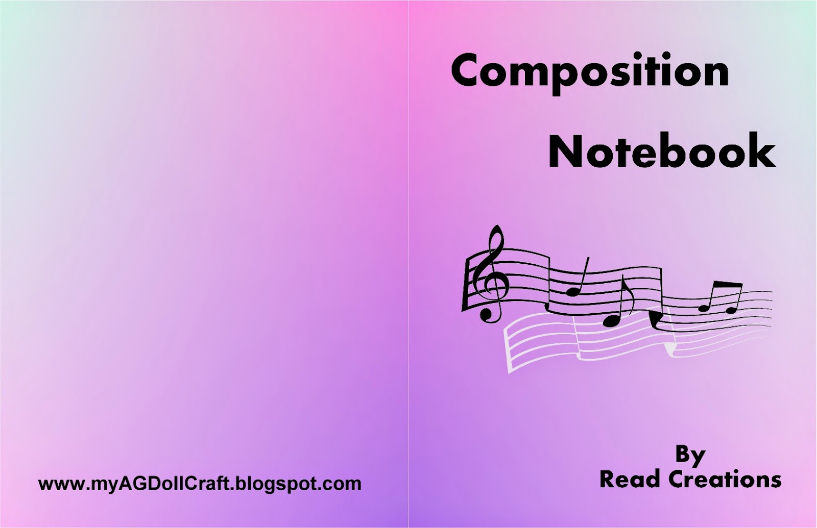 Composition Notebook book Cover