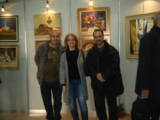 Exposition de peintures à La Galerie Aicha Haddad 7