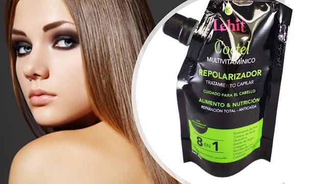 Repolarización capilar beneficios para un cabello maltrado o rebelde