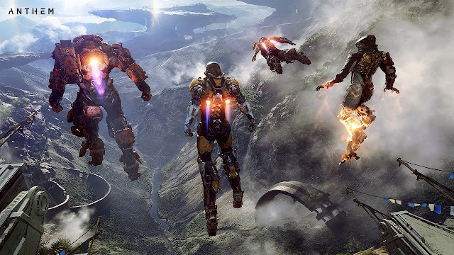 Anthem untuk platform PS4, Xbox One, PC.