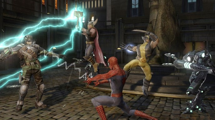 Marvel Ultimate Alliance 2 PPSSPP Iso