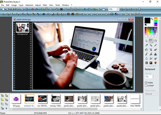 تحميل برنامج  PhotoFiltre Studio X لتحرير الصور والكتابة عليها