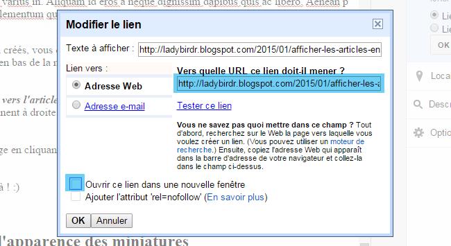 Afficher les articles en miniatures, disposés en grille avec CSS pour Blogger