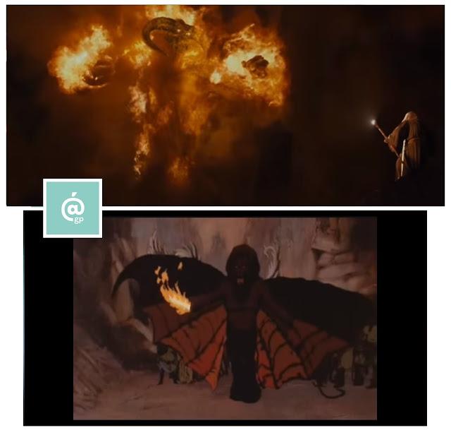 Balrog - El Señor de los Anillos: Peter Jackson Vs Ralph Bakshi - JRRTolkien - ÁlvaroGP - el fancine - el troblogdita