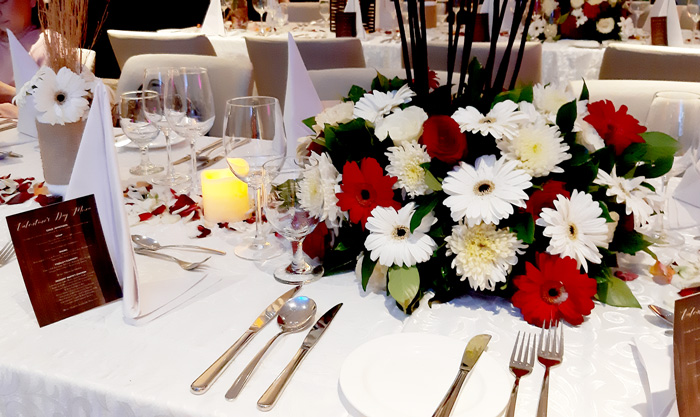 Valentines 2019 table-set up at Misto, Seda Abreeza