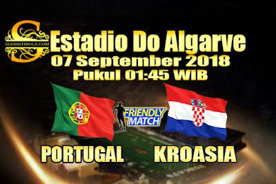 JUDI BOLA DAN CASINO ONLINE - PREDIKSI SKOR PERSAHABATAN PORTUGAL VS KROASIA 07 SEPTEMBER 2018
