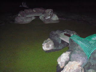 Photo of the Adventure Golf course at TopGolf in Watford