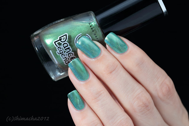 Dance Legend, Top magnetic green, magnetic polish