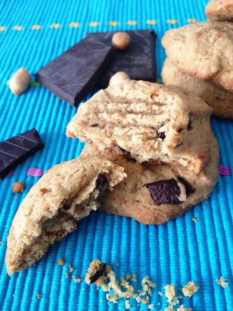 Sweet Kwisine, beurre de cacahuète, peanut butter, chocolat, cookie