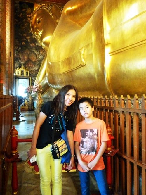 Reclining Buddha ワットポーวัดโพธิ