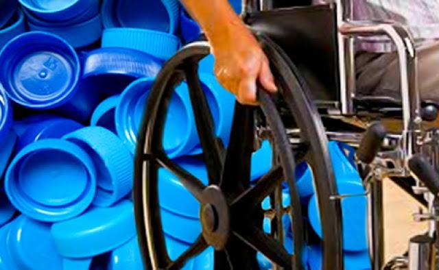 Συνεχίζεται η συλλογή πλαστικών πωμάτων στο Ναύπλιο μέχρι τις 15 Δεκεμβρίου για το 10ο αμαξίδιο.