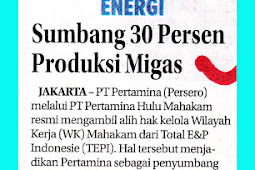 Contribute 30 Percent of Oil and Gas Production
