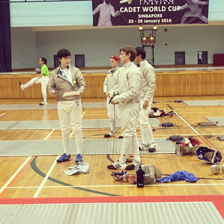 Mosman Fencing Academy 2016 Singapore Cadet World Cup