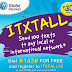 Send 100 texts to any local and international networks with Globe ITXTALL30