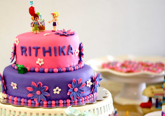 Rithika's Lego Friends 7th Birthday Party