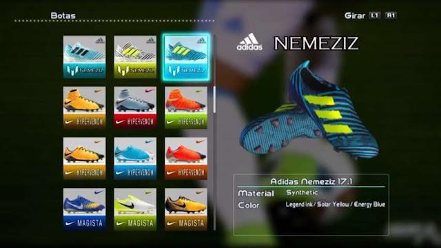 Adidas Nemeziz 17+ 360 Agility Boots PES 2013