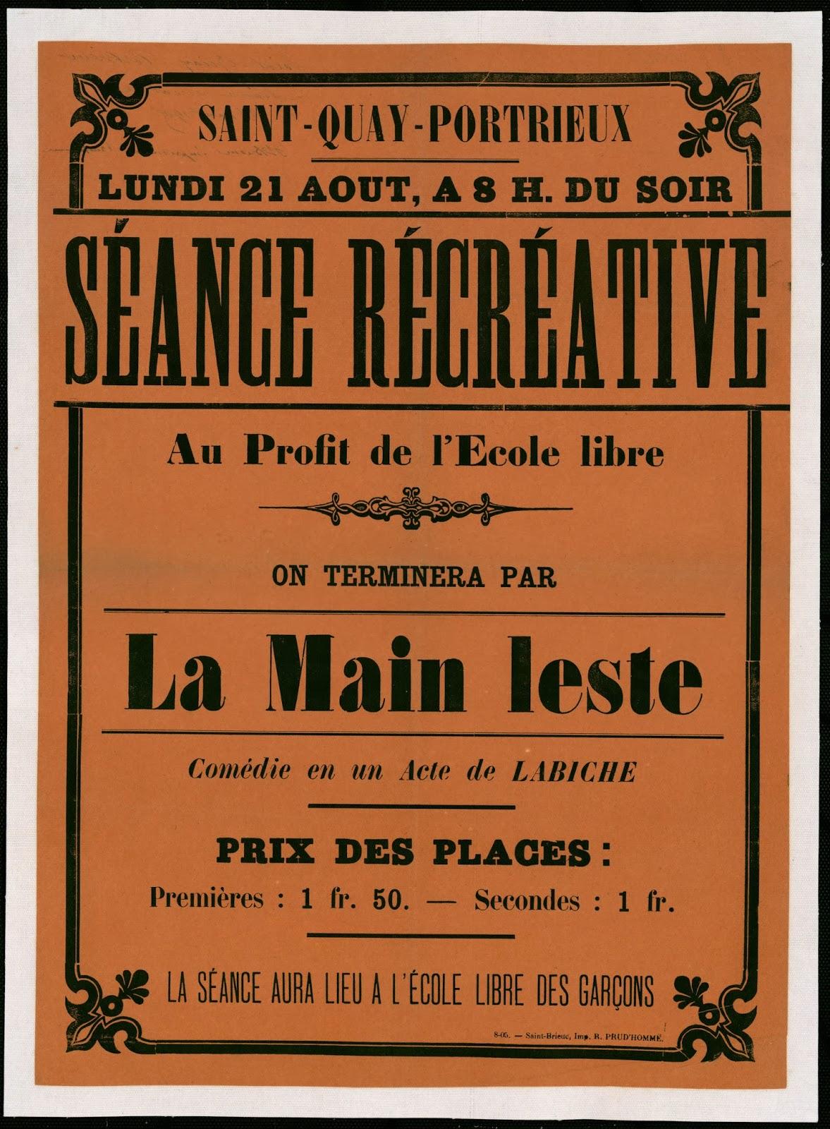 Souvent Saint-Quay-Portrieux d'antan: Affiches et cartes publicitaires FL65