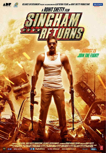 Singham Returns (2014) Movie Poster No. 4