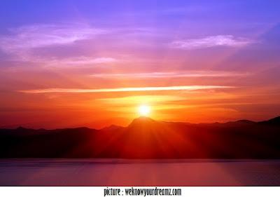 Mengapa Matahari Berwarna Merah Saat Terbit dan Terbenam?