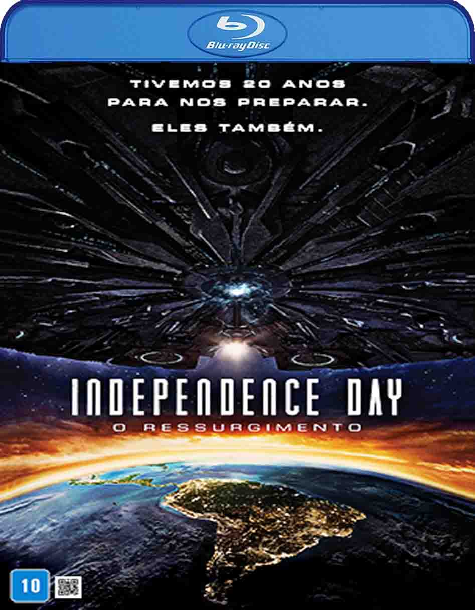Independence Day: O Ressurgimento (2016) BluRay/BRRip Dual Audio