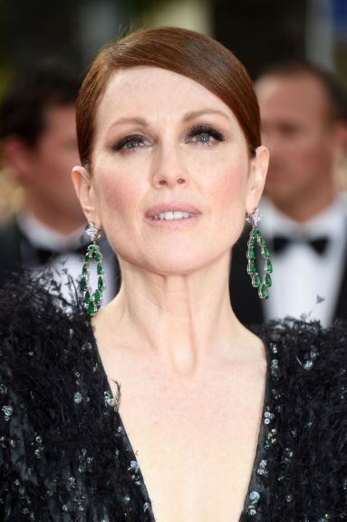 Cannes 2015, Julianne Moore, Emeralds, daimonds