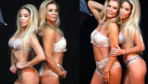 Danielle Winits posa de lingerie