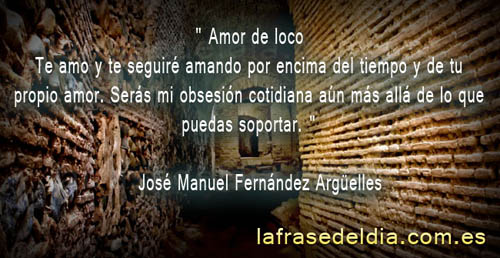 Amor loco de José Manuel Fernández Argüelles