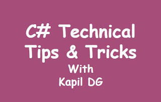 C# Technical Tips and Tricks