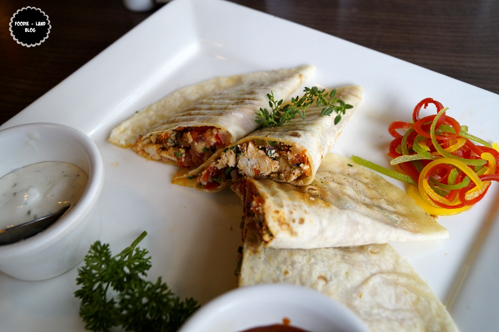Chicken Quesadillas@ Woodstok | Indiranagar | Bangalore