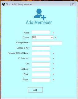 Member Entry