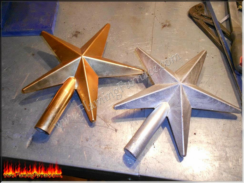 aluminum star casting and foundry pattern