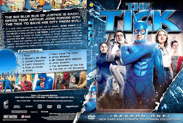 The Tick Season 1 DVD Cover