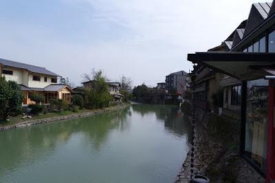 Hozu River in Arashiyama Kyoto
